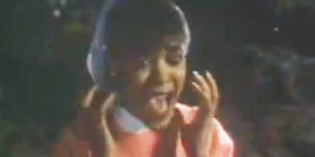 Ola Ray in the video for 'Thriller.'