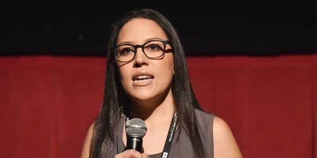 LOS ANGELES, CA - APRIL 30:  TCM Ultimate Fan Contest winner Tiffany Vazquez speaks onstage at 'One Man's Journey' screening during day 3 of the TCM Classic Film Festival 2016 on April 30, 2016 in Los Angeles, California. 25826_006  (Photo by Alberto E. Rodriguez/Getty Images for Turner)