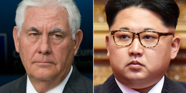 Secretary of State Rex Tillerson says military options are on the table in case he fails in diplomacy efforts with North Korean dictator Kim Jong Un.