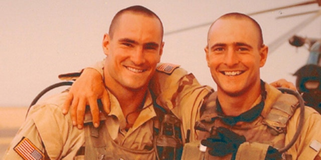Pat Tillman, (l.), and his brother, Kevin, (r.), joined the military after 9/11. (Pat Tillman Foundation)