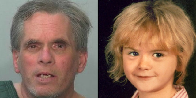 John Miller (left) has been charged with the 1988 murder of eight-year-old April Tinsley (right)