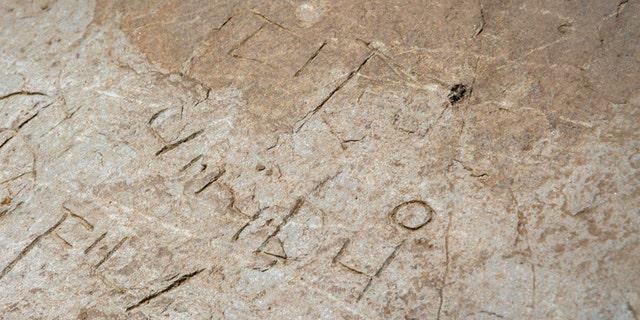 The inscription (English Heritage)