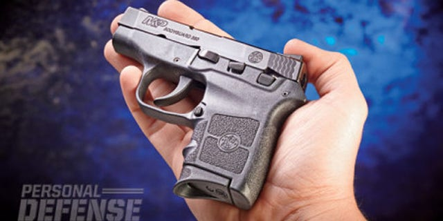 The .380 is easily concealed in a purse or ankle holster.