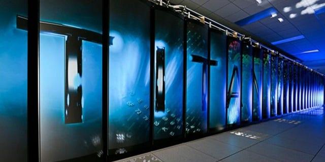 Not your average PC: Oak Ridge's open science supercomputer Titan runs with a theoretical peak performance exceeding 20 petaflops (a quadrillion calculations per second).