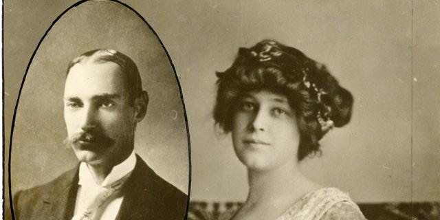 John Jacob Astor and his wife Madeleine (Henry Aldridge & Son).