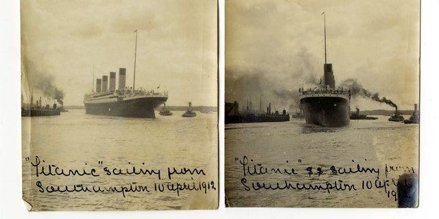 File photo: Titanic sailing from Southampton (Credit: Henry Aldridge & Son)