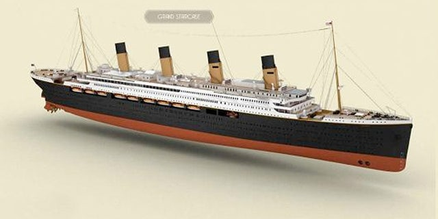 Unlike the original, the Titanic II will have a welded and not riveted hull and be about four yards wider.