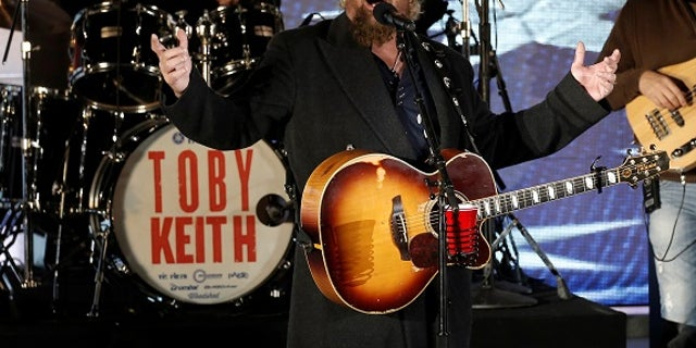 Toby Keith recalled his favorite interview being with Dan Rather.