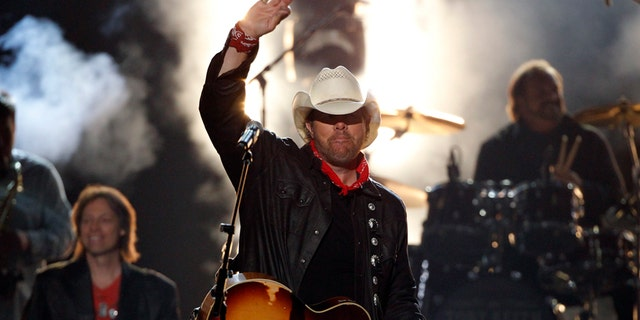 Country singer Toby Keith.