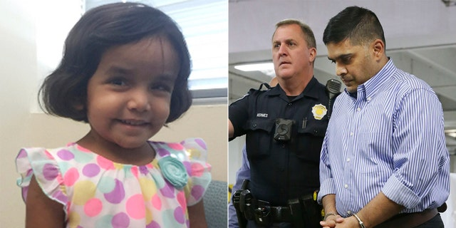 Three-year-old Sherin Mathews's body was found by cadaver dogs. Her adopted father Wesley Mathews is behind bars on a charge of injury to a child.
