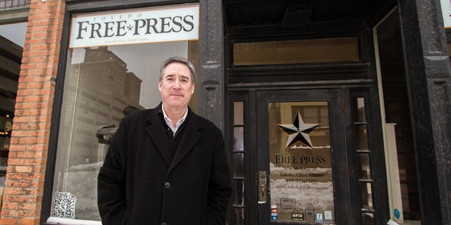 Thomas Pounds started the Toledo Free Press in 2005, one year after leaving the city's daily newspaper.