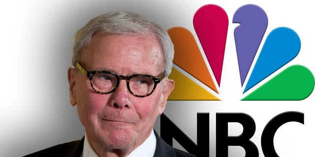 NBC News legend Tom Brokaw took a series of personal jabs at his accuser in an email to colleagues.