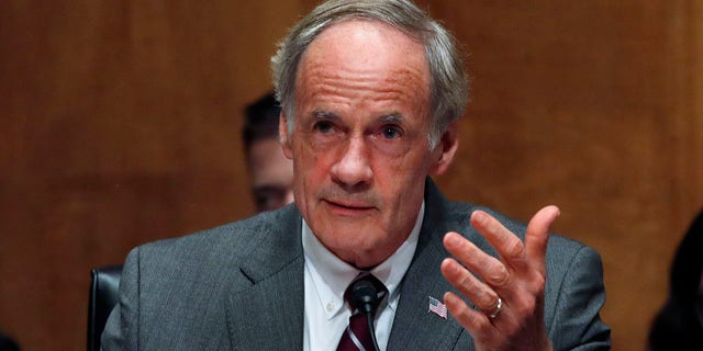 Delaware Sen. Tom Carper's First State PAC donated $1,000 to Hirono's political campaign in June, despite the lawmaker's confession of abuse.