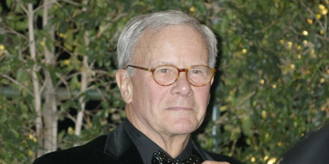 Former NBC Nightly News anchorman and author Tom Brokaw arrives at the Academy of Motion Picture Arts & Sciences 4th annual Governors Awards in Hollywood December 1, 2012. (REUTERS/Fred Prouser)