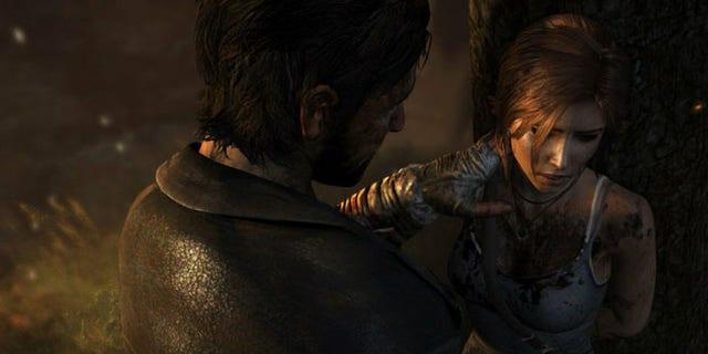 "Game studio Crystal Dynamic clarifies ""misunderstood"" scene."