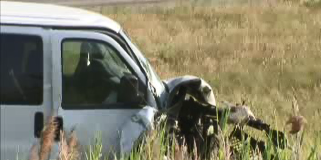 The girl's father was allegedly driving drunk when he crashed the car they were in.