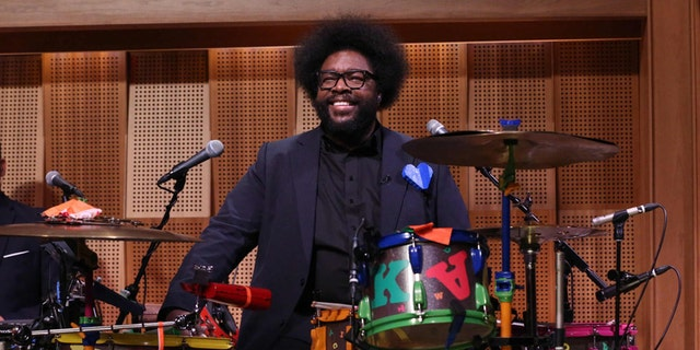 The Roots bandleader Questlove.