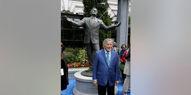 Tony Bennett was honored in San Francisco for his 90th birthday