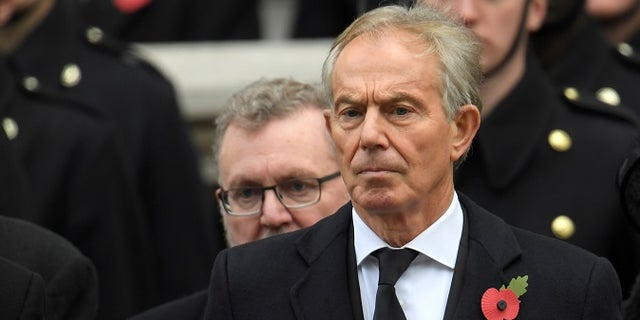 Emails between Clinton and Tony Blair, seen here, were released.
