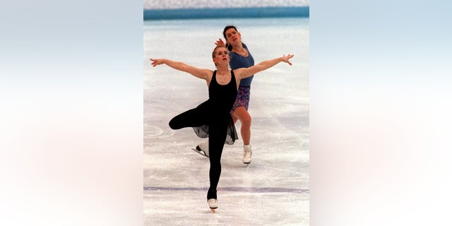 Tonya Harding was banned for life from the U.S. Figure Skating Association in 1994.