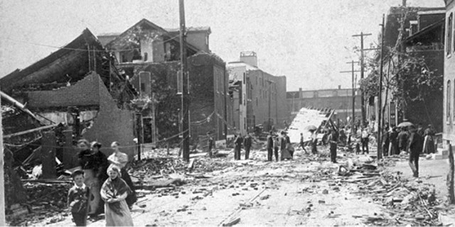 The third deadliest tornado to strike the United States claimed 255 lives when it struck St. Louis, Missouri on May 27, 1896.