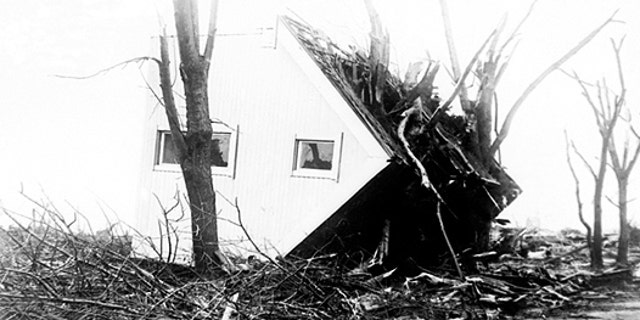"The deadliest tornado on record in the United States took place on March 18, 1925 when the ""Tri-State Tornado"" killed 695 people across the Midwest."
