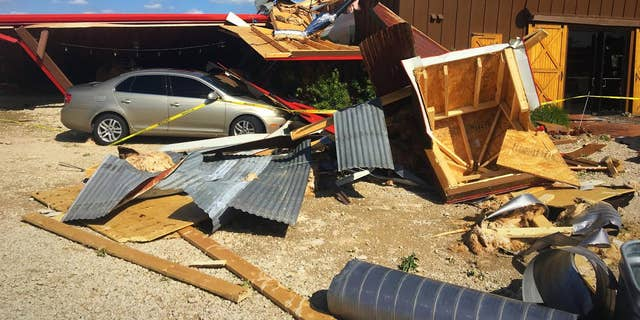 The Rustic Barn was supposed to host a prom until a tornado destroyed it.