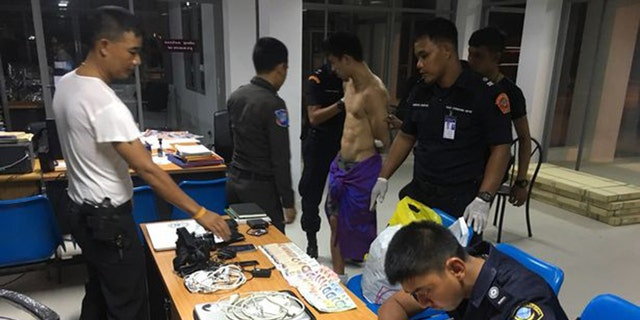 Naked man hurls faeces at bystanders in Phuket airport