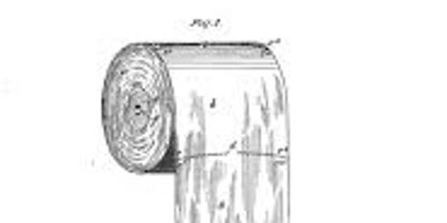 Seth Wheeler, of Albany, N.Y., received an early patent for toilet paper on July 19, 1898. (Credit: Google Patents)