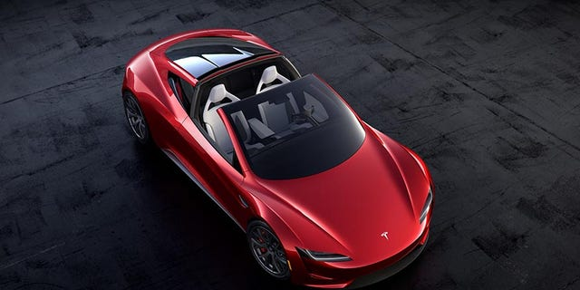 Tesla says the Raodster will accelerate from 0-60 mph in 1.9 seconds, have a top speed above 250 mph and an all-electric range of 620 miles or more.