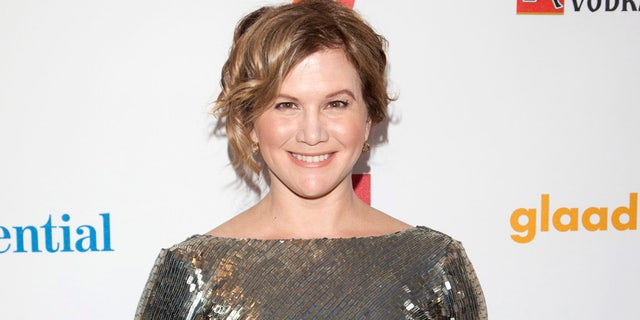 Actress Tracey Gold arrives at the 23rd annual Gay and Lesbian Alliance Against Defamation (GLAAD) Media Awards in New York March 24, 2012.   REUTERS/Andrew Kelly  (UNITED STATES - Tags: ENTERTAINMENT) - RTR2ZU3M