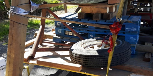 The driver was fined the equivalent of about $1,500, which could buy a pretty decent and road legal trailer.