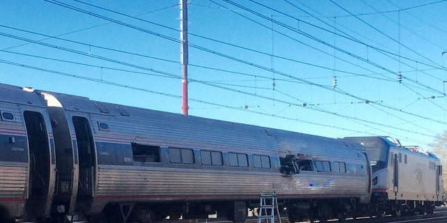 An Amtrak train derailed in Chester, Pa.