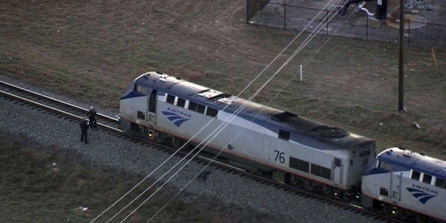 The Amtrak train conductor says he blew the horn but Yazmin was wearing headphones.