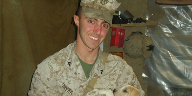 Lance Cpl. Andy Slivka pictured here in 2011.