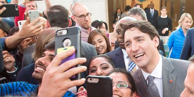 Canadian Prime Minister Justin Trudeau was in the U.S. to discuss trade, jobs and economic growth.