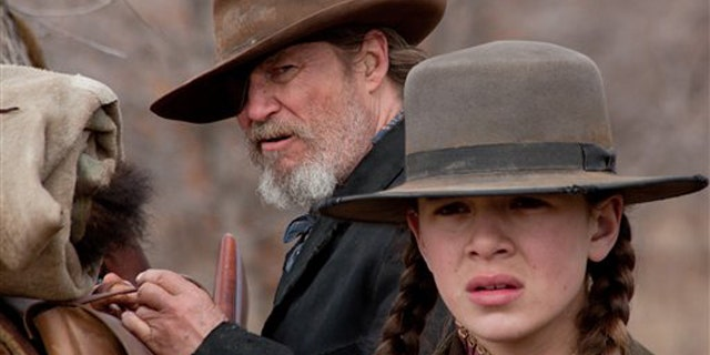 Jeff Bridges (left) and Hailee Steinfeld star in
