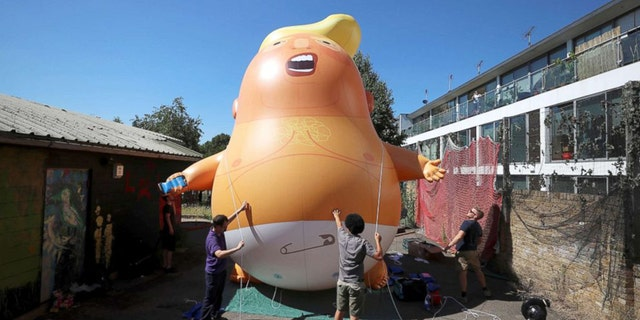 "The ""Trump baby"" blimp was given the green light to fly over London during President Trump's U.K. trip next Friday"