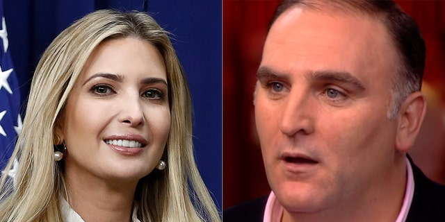 Activist chef Jose Andres falsely blamed First Daughter Ivanka Trump when he wasn't on exclusive event's guest list.
