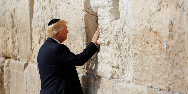 President Trump became the first sitting president to visit the Western Wall on May 22, 2017.