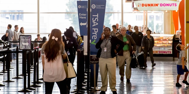 The TSA is expecting around 26.8 millionThanksgivingtravelers to take to the skies between Nov. 22 and Dec. 2.