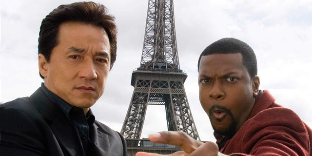 """Chan and Tucker, seen in """"Rush Hour 3."""""""