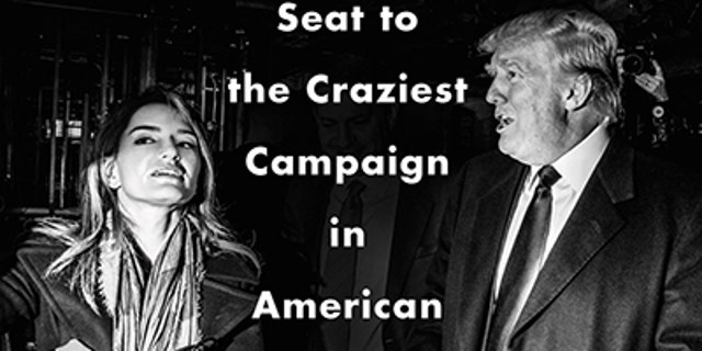 """CORRECTS IMPRINT TO DEY STREET - This cover image released by Dey Street shows """"Unbelievable: My Front Row Seat to the Craziest Campaign in American History,"""" by Katy Tur. (Dey Street via AP)"""