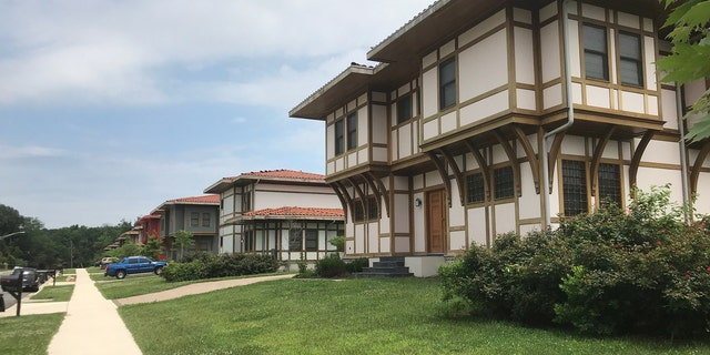 Guest houses, often frequented by Turkish dignitaries and officials, on the grounds of the Ottoman-style, $110 million Islamic complex in Maryland.