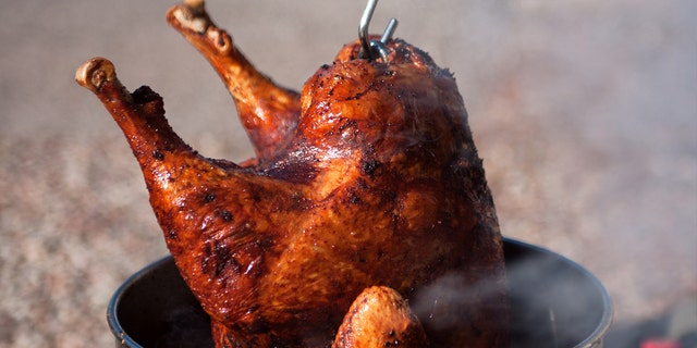 It wouldn't be Thanksgiving without a deep-fried turkey.