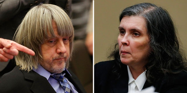 David and Louise Turpin, pictured here in court Wednesday, Jan. 24, 2018, have pleaded not guilty to torture and other charges.