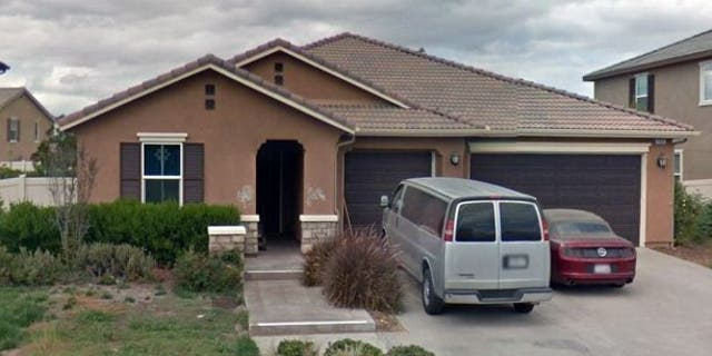 The Turpin home in Perris, Calif, where 13 children allegedly lived in horrid conditions.