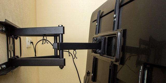 Realtor Bill Gassett said TV brackets are probably a gray area.