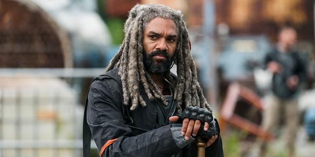 """Khary Payton as Ezekiel in """"The Walking Dead,"""" Season 8, Episode 3."""