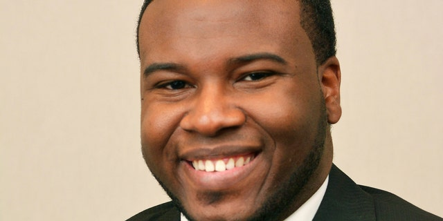 This portrait provided by Harding University in Searcy, Ark., shows Botham Jean.